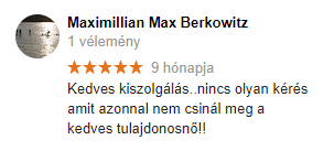 Perfect Függöny vélemény - Maximillian Max Berkowitz